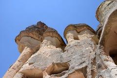 Liefdevallei in het nationale park van Goreme Cappadocia, Turkije Stock Foto