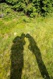 Liefdeverhaal in groen royalty-vrije stock afbeelding