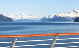 Lieferung in Alaska Stockfotos