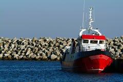 Lieferung im Hafen Lizenzfreies Stockbild