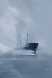 Lieferung im Nebel stockfotos