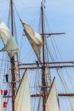 Lieferung Juan Sebastian de Elcano lizenzfreie stockfotos