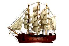 Lieferung oder Barque Stockbild