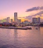 Lieferung Tokyo-Japan am Hafen Stockfotografie