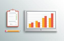 Lieferungsunterzeichnung und -monitor Lizenzfreie Stockfotos