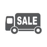 Lieferwagenvektor-Ikonenillustration Stockfotos