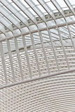 LIEGE, BELGIUM - December 2014: Abstract view on the roof of the Royalty Free Stock Photography