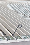 LIEGE, BELGIUM - December 2014: Abstract view on the roof with s Stock Photos