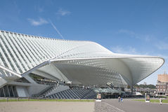 Liege-Guillemins Royalty Free Stock Photos
