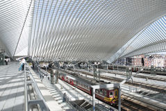 Liege-Guillemins Royalty Free Stock Photo