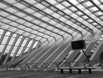 Liege-Guillemins railway Royalty Free Stock Image