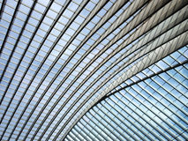 Liege railway station Royalty Free Stock Photo