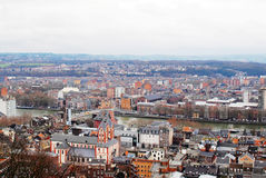 Liege skyline Royalty Free Stock Photos