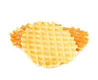 Liege waffles Royalty Free Stock Images
