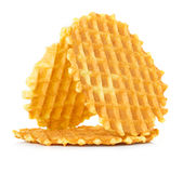Liege waffles Royalty Free Stock Image