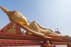 Liegender großer Buddha Stockbilder