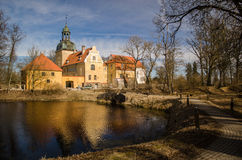 Lielstraupe Castle Royalty Free Stock Images