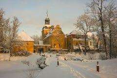 Lielstraupe, Lettland Stockfotos