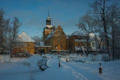 Lielstraupe-Schloss, Lettland Lizenzfreies Stockfoto