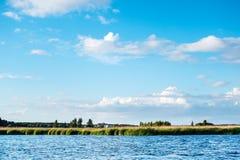 Lielupe river estuary Stock Photos