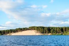 Lielupe river estuary Royalty Free Stock Image