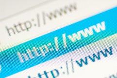 Lien de HTTP Image libre de droits