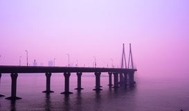 LIEN DE MER, MUMBAI Images libres de droits