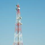 Lien de relais radioélectrique Photographie stock libre de droits