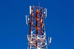 Lien de relais radioélectrique Photos stock