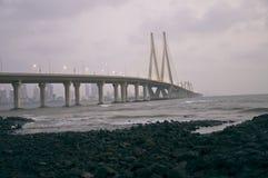 Lien-Douze de mer de Bandra-Worli Photo libre de droits