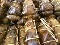 Lien thaïlandais de gruau de dessert Photographie stock