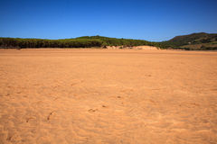 Liencres dunes nature reserve Royalty Free Stock Photos