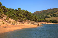 Liencres dunes nature reserve Royalty Free Stock Image
