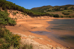 Liencres dunes nature reserve Royalty Free Stock Photography