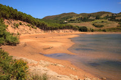 Liencres dunes nature reserve Royalty Free Stock Photo