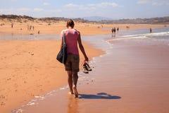 Liencres dunes nature reserve Stock Photos