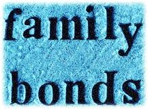 Liens de famille Photos stock