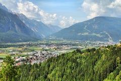Lienz, Österreich lizenzfreie stockfotos