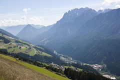 Lienzer Dolomites and Austrian Tyrol Stock Image
