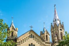Liepaja church Stock Photo