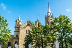 Liepaja kyrka Arkivbild