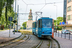 Liepaja transport Royalty Free Stock Photo