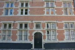 Lier, België Huis in Beguinage Stock Fotografie