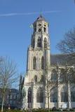 LIER, BELGIEN - APRIL 2016: Heiliges Gummarus-Kirche stockfotografie