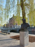 LIER, BELGIEN - APRIL 2016: Statue von Felix Timmermans stockbilder
