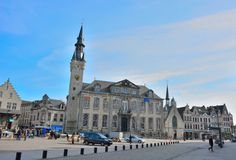Lier City Hall is a town hall at the Markt in the Belgian city of Lier Royalty Free Stock Images