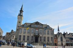 Lier City Hall is a town hall at the Markt in the Belgian city of Lier Royalty Free Stock Image