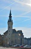 Lier urząd miasta jest urzędem miasta przy Markt w Belgijskim mieście Lier Zdjęcia Royalty Free