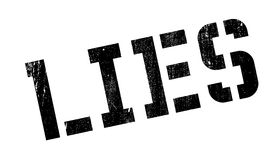 Lies rubber stamp Royalty Free Stock Photos