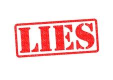 LIES Stock Image